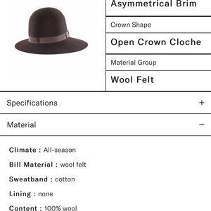 goorin bros Accessories - Goorin Bros Missy Banks asymmetrical hat